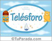 Nombre Nombre para bebé, Telésforo