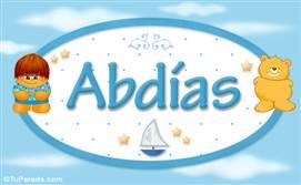 Abdias - Nombre para bebé