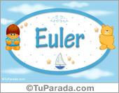 Nombre Nombre para bebé, Euler