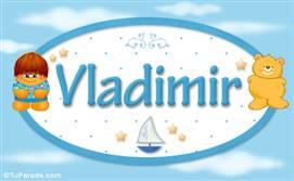 Vladimir - Nombre para bebé