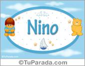 Nino - Nombre para bebé