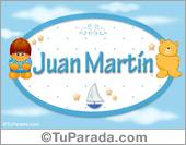 Juan Martin - Nombre para bebé