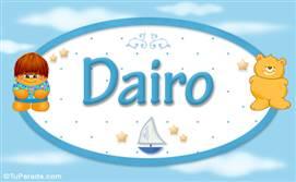 Dairo - Nombre para bebé