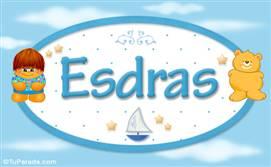Esdras - Nombre para bebé