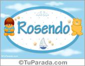 Nombre Nombre para bebé, Rosendo