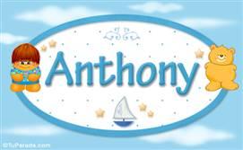 Anthony - Nombre para bebé