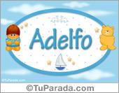 Adelfo - Nombre para bebé