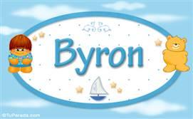 Byron - Nombre para bebé