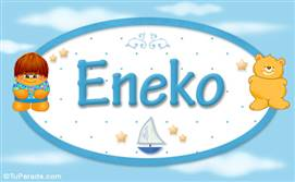 Eneko - Nombre para bebé
