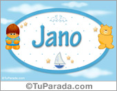 Jano - Nombre para bebé