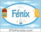 Fénix - Nombre para bebé