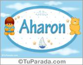 Aharon - Nombre para bebé