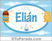 Elián - Nombre para bebé