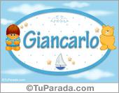 Nombre Nombre para bebé, Giancarlo