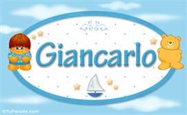 Giancarlo - Nombre para bebé
