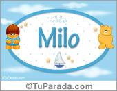 Nombre Nombre para bebé, Milo