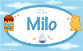 Milo - Nombre para bebé