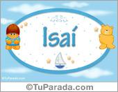 Isaí - Nombre para bebé