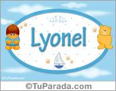 Nombre Nombre para bebé, Lyonel