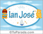 Ian José - Nombre para bebé