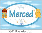 Nombre Nombre para bebé, Merced