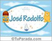 José Rodolfo - Nombre para bebé
