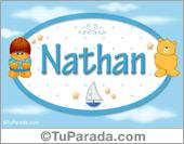 Nombre Nombre para bebé, Nathan