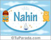 Nahin - Nombre para bebé