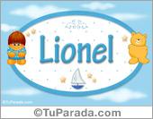 Nombre Nombre para bebé, Lionel