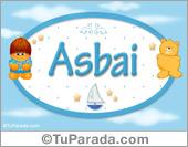 Asbai - Nombre para bebé