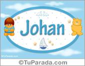 Johan - Nombre para bebé