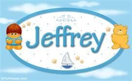 Jeffrey - Nombre para bebé
