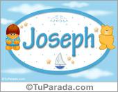 Nombre Nombre para bebé, Joseph