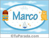 Nombre Nombre para bebé, Marco