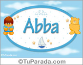 Nombre Nombre para bebé, Abba
