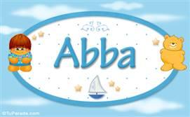 Abba - Nombre para bebé