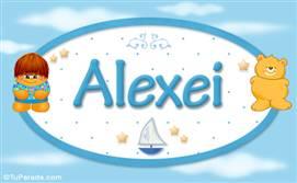 Alexei - Nombre para bebé
