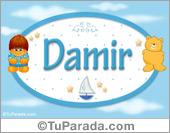 Damir - Nombre para bebé