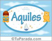 Nombre Nombre para bebé, Aquiles