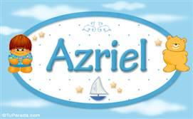 Azriel - Nombre para bebé