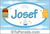 Josef - Nombre para bebé