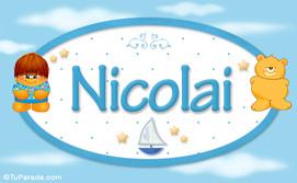 Nicolai - Nombre para bebé