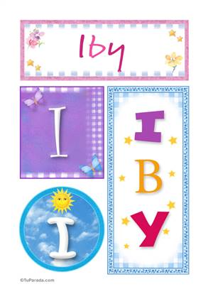 Iby - Carteles e iniciales