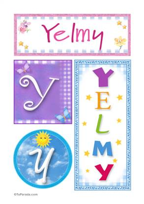 Yelmy - Carteles e iniciales