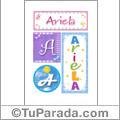 Ariela - Carteles e iniciales
