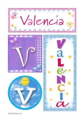 Valencia - Carteles e iniciales