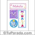 Mahalia - Carteles e iniciales