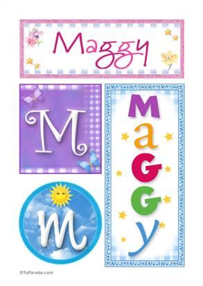Maggy - Carteles e iniciales