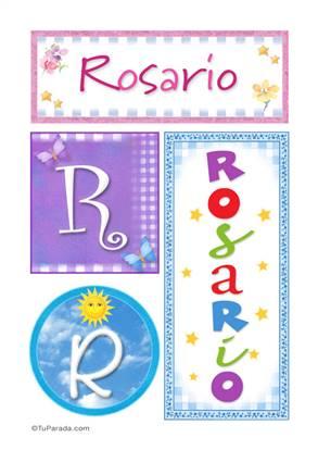 Rosario - Carteles e iniciales