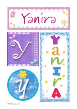 Yanira -Carteles e iniciales